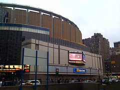 Madison Square Garden, The World's Most Famous Arena, Is Home To The Rangers And Knicks.