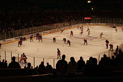 New York Rangers Vs. Detroit Red Wings At Madison Square Garden, 2007.