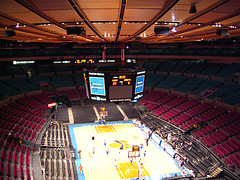 Looks Like The Knicks Are In Town And Playing At Madison Square Garden.
