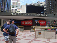 Picture Of The Plaza At Madison Square Garden, I Wonder If Can Hear Me Now