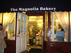 The Bright And Cheerful Interior Of The Magnolia Bakery