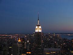 Manhattan At Night, Millions Of Lights Illuminating The Center Of The World