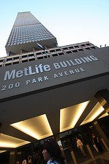 If You Need Life Insurance, Stop By The MetLife Building And Talk To An Agent.