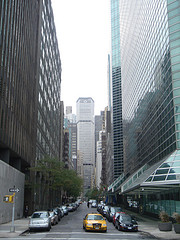 MetLife Building At The End Of The Street