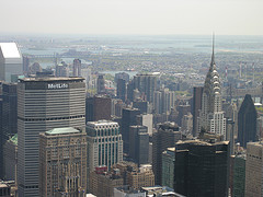 The Overview Of The MetLife Building Is Fantastic Along With All The Other Buildings.