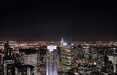 The MetLife Building, Among Others At Night
