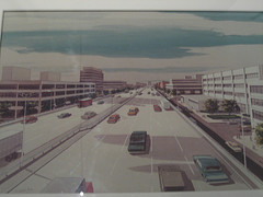 An Artist Rendering Of The Mid-Manhattan Expressway. If Only Traffic Always Moved This Well.