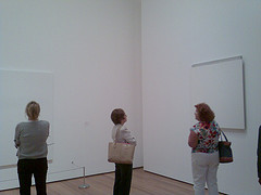 Enjoying Some Of The Minimalist Art Of The Museum Of Modern Art