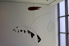 A Calder Gracing The Museum Of Modern Art