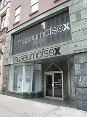 The Museum Of Sex In Chelsea New York.