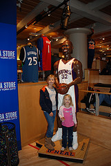 Kids Can Stand Up To Shaq At The Nabs Store