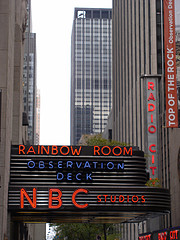 Nbc Studios In New York City.