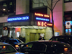 Bright Lights Showcase The Rainbow Room At Nbc Studio