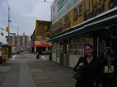 The Original Nathan's Famous Hot Dogs, Coney Island Landmark