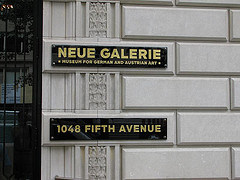 Entrance To The Neue Galerie, Museum For German And Australian Art