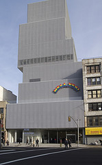 The Outside Of The New Museum Of Contemporary Art, Featuring Art From Around The World.