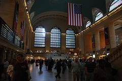 Grand Central Station, Home Of The Former New York Central Railroad