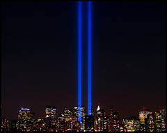 Beams Of Light From World Trade Center Site Memorialize 9/11
