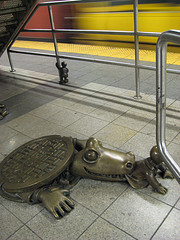 Sculptures Enhancing The New York City Subway
