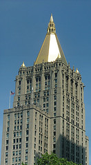 New York Life Building, Built On 1928, The Building Stands 615 Feet (187 M) Tall And Contains 40 Floors.