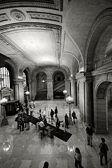 What Better Place To Get A Book Than The New York Public Library.
