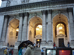 The New York Public Library: A Warm Shelter From The Pouring Rain