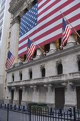 The World Famous New York Stock Exchange On Wall Street, Manhattan