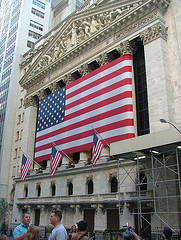 The New York Stock Exchange. Symbol Of America's Economic Might.