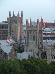 The Impressive Skyline Of New York Theological Seminary.