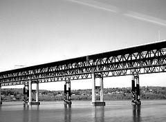 The Newburgh-beacon Bridge Which Spans The Hudson River