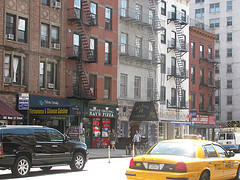 A View Of Buildings On Ninth Avenue.