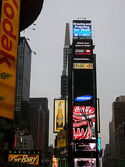 The Beauty Of Advertising Can Be Seen At One Times Square.