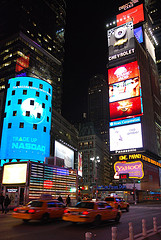 Like A Dolled Up Girl, One Times Square Is All Lit Up To Put On Its Nightly Show