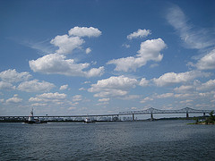 At Outerbridge Crossing You Will Find Many Ships And Vessels Coming And Going Out At Sea