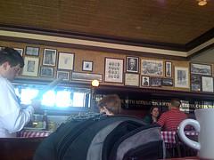 The Many Decorative Photos At P.J.. Clarke's.