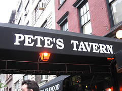 Pete's Tavern Claims To Be The Oldest Continually Operating Tavern In New York City.