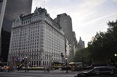 Surrounded By Modern Giants, The Plaza Hotel Still Stands Tall