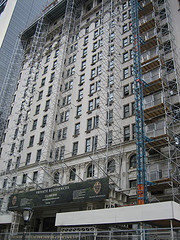 Under construction Building Of Plaza Hotel
