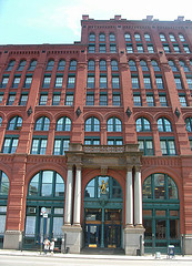 Constructed In 1893, The Puck Building, A Beautiful Example Of Romanesque Revival Architecture