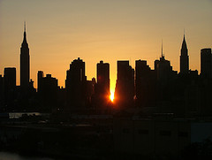 The End Of The Day, As Viewed From The Pulaski Bridge