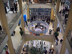 Overhead Photo Of Lobby Of The Queens Center Located In The Elmhurst Section Of Queens.