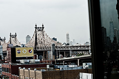 Connecting Long Island City, Queens To Manhattan, The Queensboro Bridge Stands Over The River