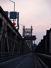 A View Of The Queensboro Bridge At Dusk