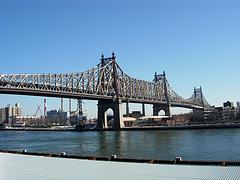 The Queensboro Bridge Connecting Queens With Manhattan