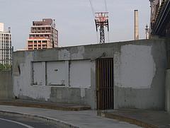 An Ominous Gate Near The Queensboro Bridge.
