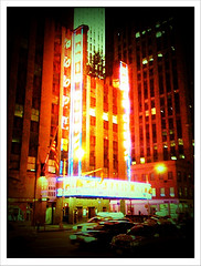 The Radio City Music Hall, This Is The Place For Me, Lights And Music