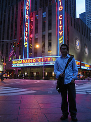 Radio City Music Hall Is Home To The World Famous Rockettes.