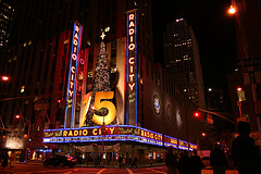 The Iconic Radio City Music Hall Home Of The World Renowned Rockettes.