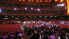Columbia Students Graduation Ceremony, Held In The Radio City Music Hall