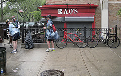 Bicycles Parked Outside Of Rao's.